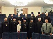 В Синодальном отделе прошел Учебно-методический сбор военного духовенства Росгвардии Московского региона