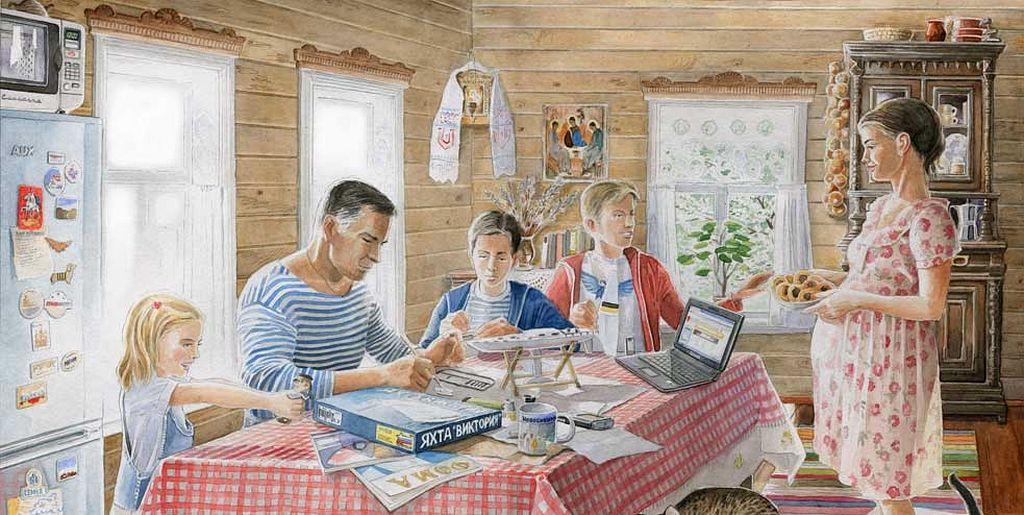 Любовь прозревает,<br />или Как стать счастливым в семейной жизни. Протоиерей Федор Бородин / Православие.Ru