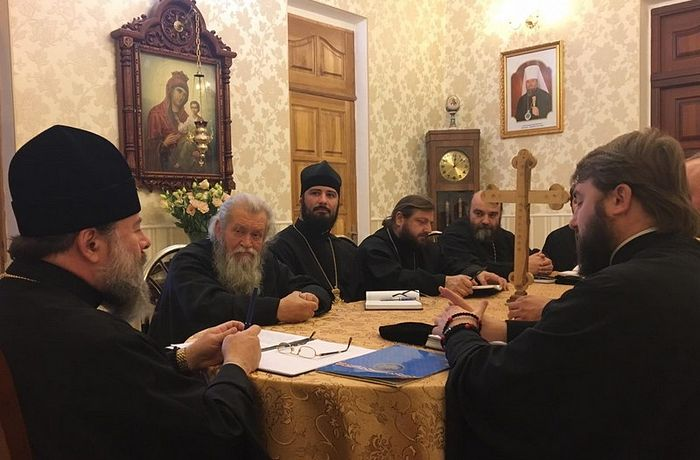 Lugansk Diocesan Council. Photo: eparhia.lg.ua