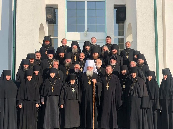 Mukachevo monastery deans and abbots. Photo: m-church.org.ua