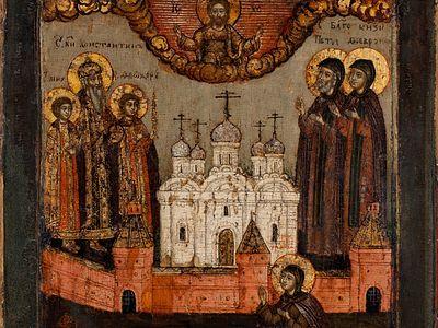 В музее имени А. Рублёва открывается выставка «Церковь Небесная. Изображение Соборов святых в русской иконописи XVI – начала XX века»