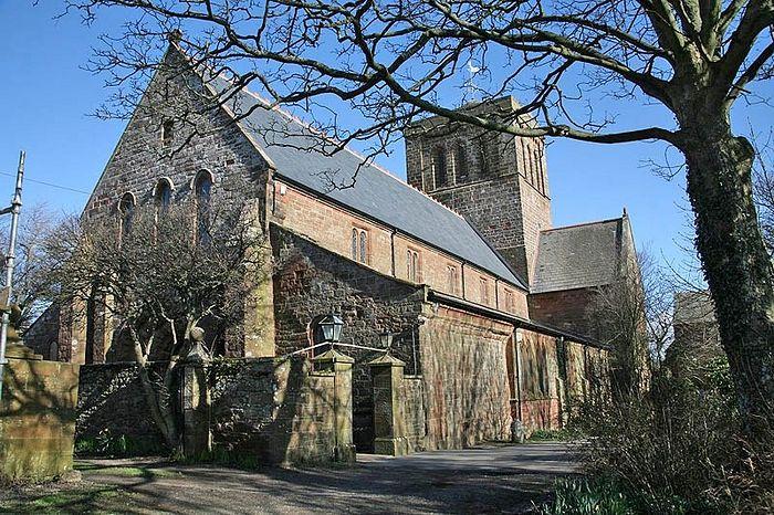 Церковь-приорат в честь Богородицы и св. Беги в Сент-Бис, Камбрия (источник - Visitcumbria.com)