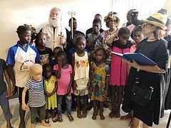 Good Deeds: Patriarch of Alexandria funds computer lab for Orthodox school in Ghana, blesses orphans' village, school in poorest slums