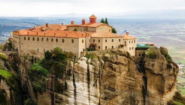 Монастырь св. Стефана в Метеорах