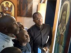 Icon of St. Nektarios streams myrrh on his feast day, Archbishop of Nairobi reports