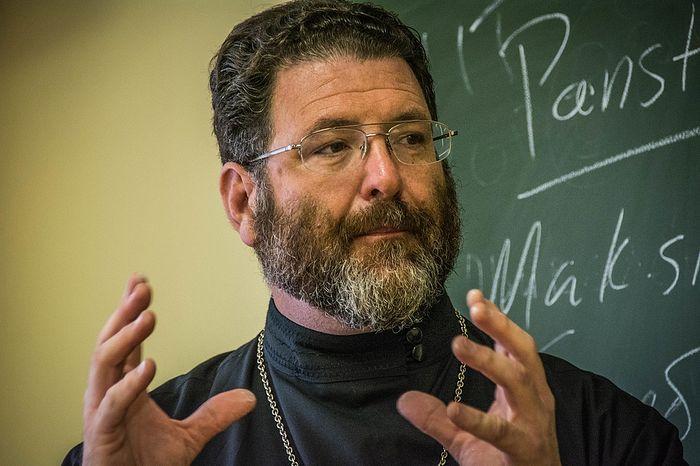Священник Марк Тайсон. Фото: pstgu.ru
