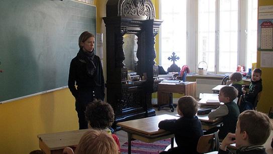 Занятие в школе Святого апостола и евангелиста Иоанна