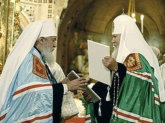"There Was No ""Legalization of Schism"" in the Reestablishment of Unity Within the Russian Orthodox Church, but Mutual Forgiveness and Reconciliation"