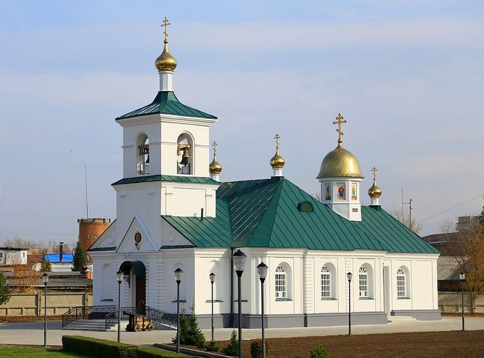 Church of the Holy Trinity, Ust-Kamenogorsk. Consecrated in 1809