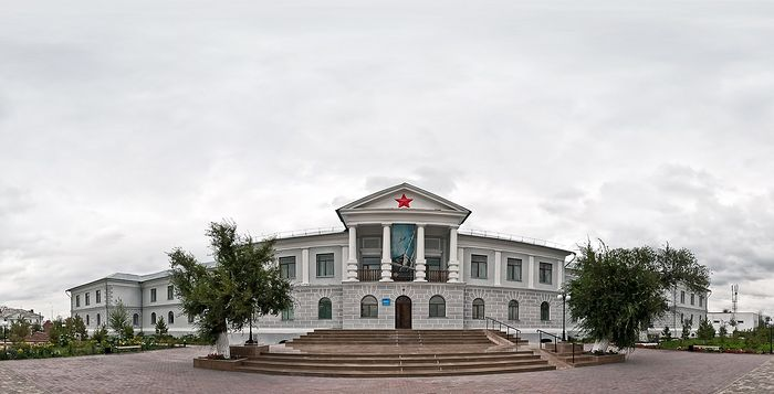 The central headquarters of the Karlag NKVD (now a museum of the victims of political repression)