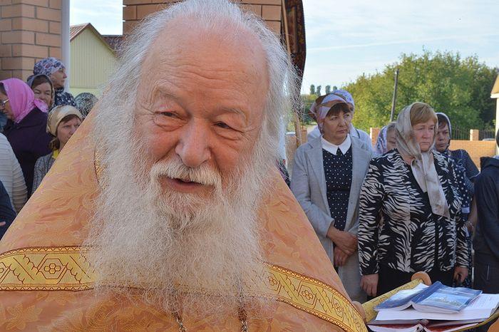 Протоиерей Валериан Кречетов. Фото Алексея Ловена