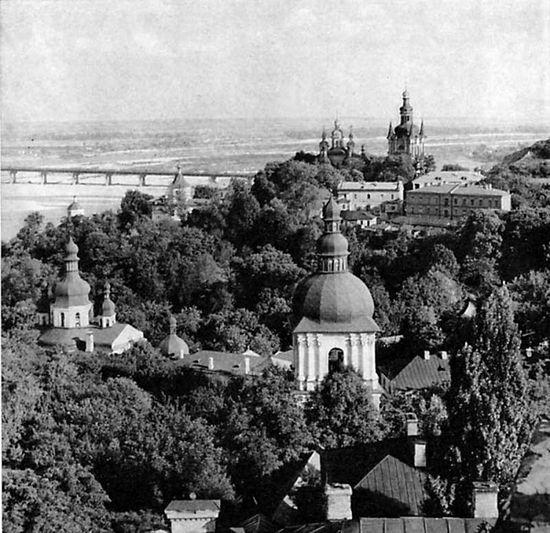 Киево-Печерская Лавра в 1960-е годы