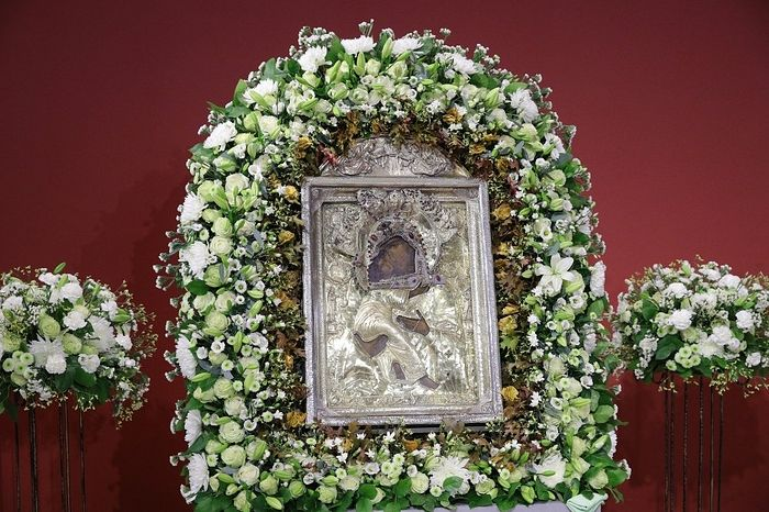 Икона Умиление. Фото: С. Бобылев / ТАСС