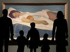 Сказ о том, как мы с детьми ходили на выставку «Сокровища музеев России»