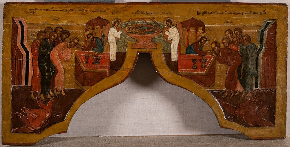 Царские врата, с сенью