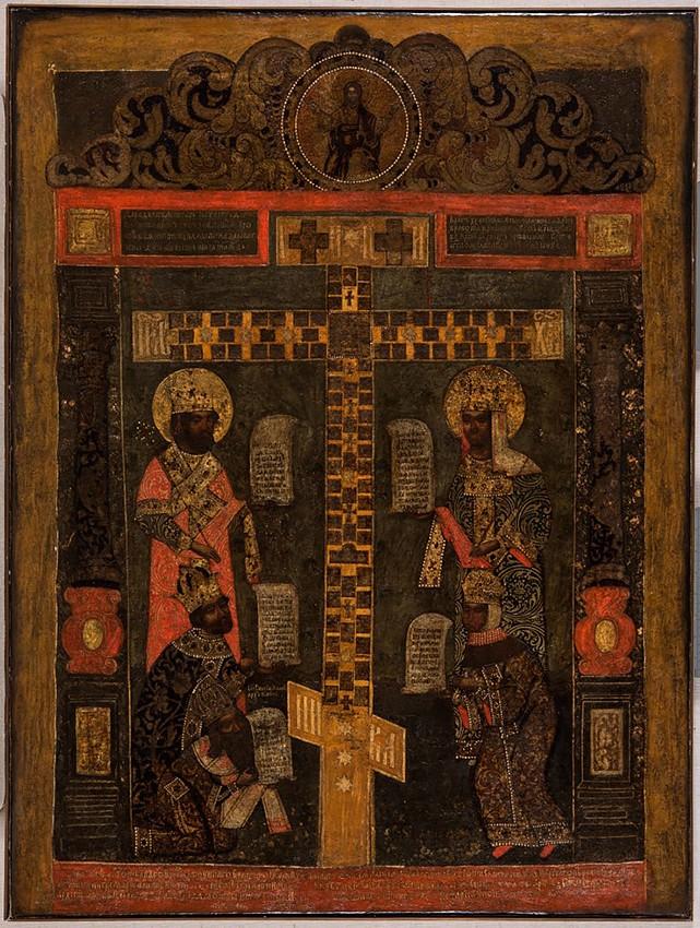 Поклонение кийскому Кресту