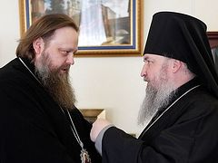 Synodal Admistration Discusses Orthodox Education for Cossacks