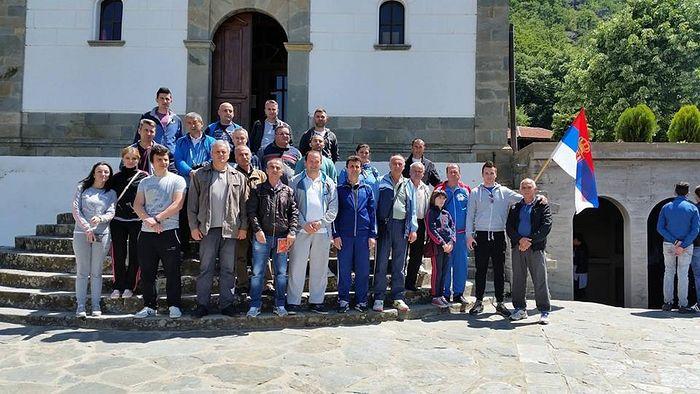В монастыре Драганац