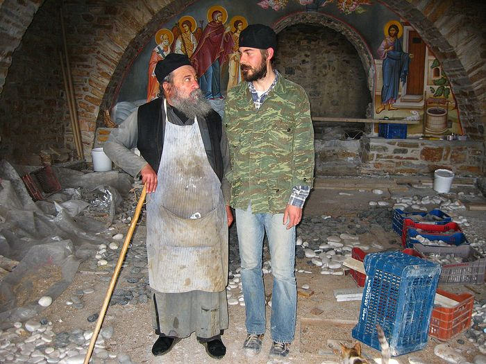 Геронда Григорий и отец Исидор