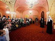 Патриарх Кирилл встретился с сотрудниками и подопечными православной службы помощи «Милосердие»