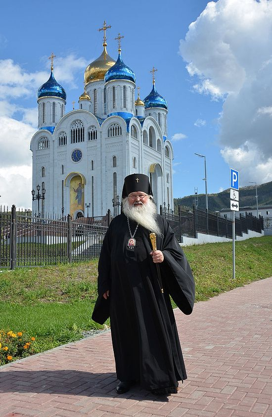 Archbishop Tikhon (Dorovskikh) of Yuzhno-Sakhalinsk and Kuril Islands. Photo by Anton Pospelov / Pravoslavie.ru.