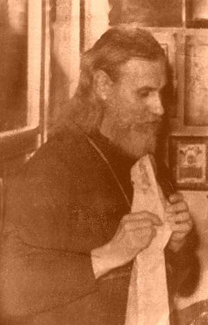 Отец Виталий. 1980-е годы