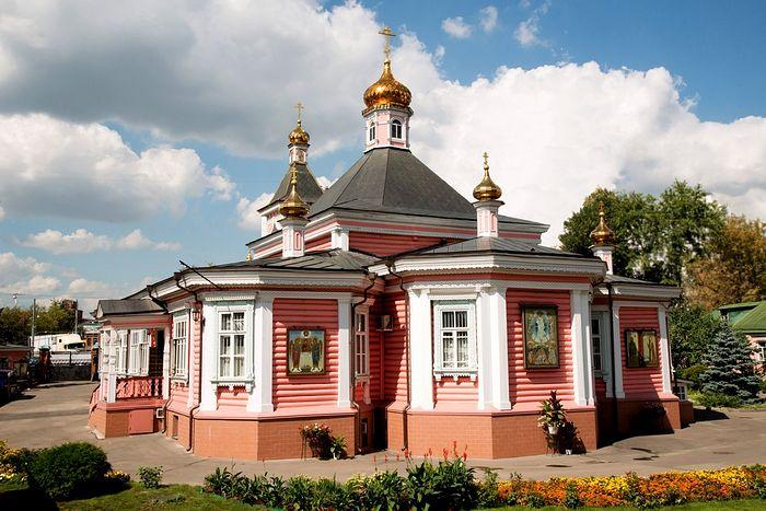 Преображенский храм в в Богородском