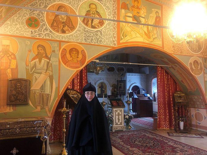 Монахиня Михаила (Осипова) в Свято-Успенском монастыре