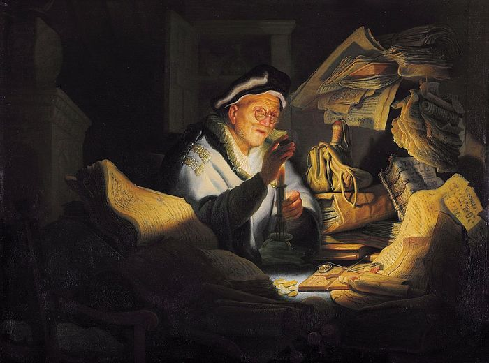 The Parable of the Rich Fool by Rembrandt, 1627. Photo: Wikipedia