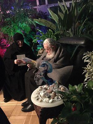 Игумения и Патриарх