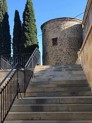 Башня царя Мириана, в которой проживал прп. Гавриил