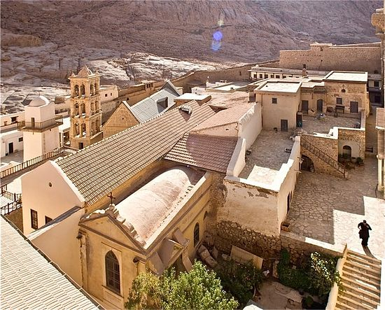 Even in remotest environs far from the world, holy monasteries are filled with a vibrant sense of life.