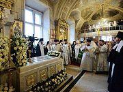 Предстоятель Русской Церкви совершил заупокойное богослужение в десятую годовщину со дня кончины Святейшего Патриарха Алексия II