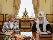 Подписано Соглашение о сотрудничестве между Русской Церковью и Уполномоченным по правам человека