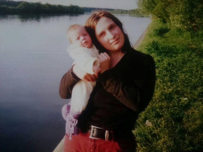 С дочерью Ниной