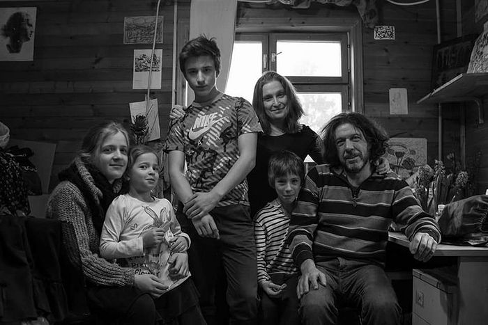 Семья Мессерер. Фото: Софья Максименко