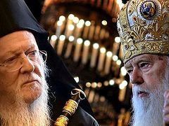 Constantinople internally divided on process for electing primate of new Ukrainian church