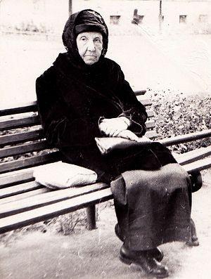 Монахиня Марина (Изотова). Послевоенный снимок
