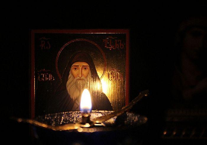 Икона прп. Гавриила Самтаврийского