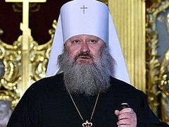"""Security Service of Ukraine accuses abbot of Kiev Caves Lavra of planning provocations against """"unification council"""""""