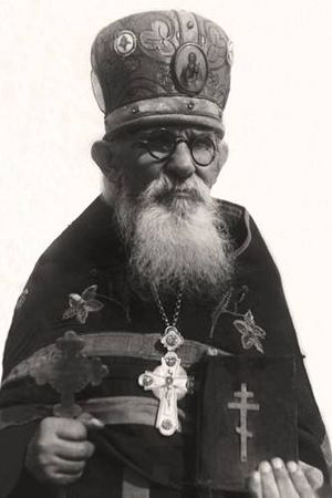 Hieroconfessor Feodosy in the final years of his life. hramzp.ua.