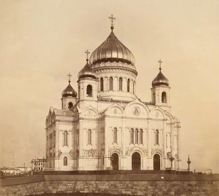 Храм Христа Спасителя до разрушения