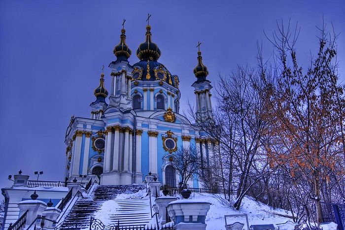 St. Andrew's Church, Kiev. Photo: news.church.ua