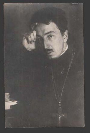 Будущий «митрополит» Александр Введенский