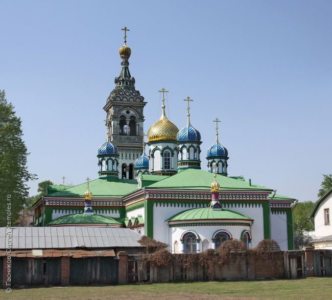 Church of St. Nicholas the Wonderworker at the Rogozhsky cemetery. 1776.