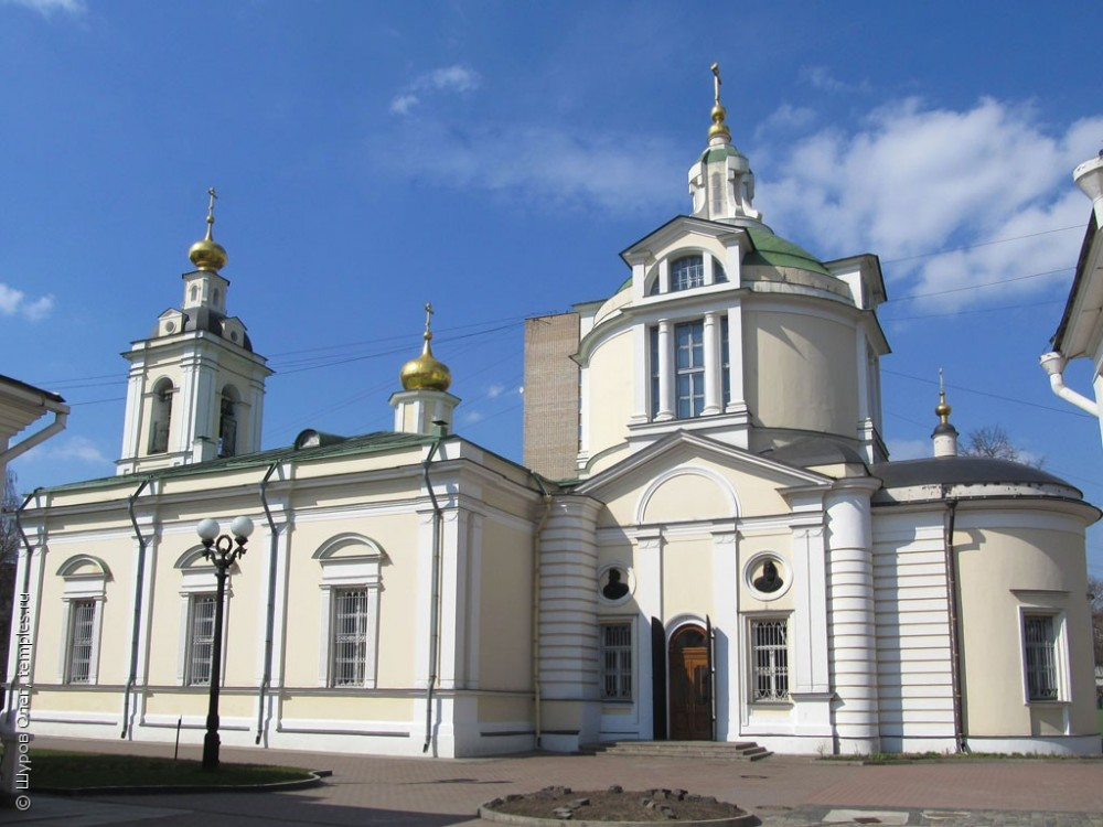 Church of St. Nicholas the Wonderworker in Kuznetsy. 1805.