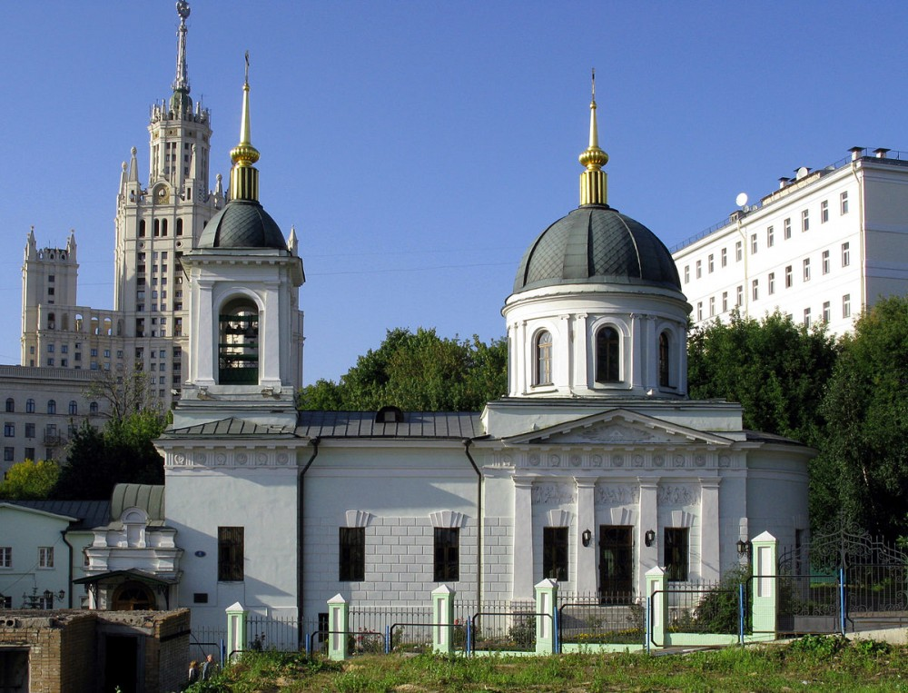 The Church of St. Nicholas the Wonderworker in Kotelniki. 1822 – 1824.
