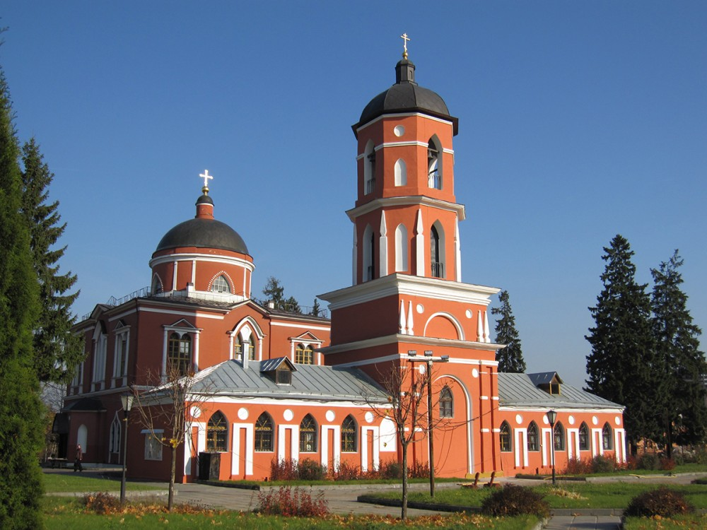 Church of St. Nicholas the Wonderworker in Rzhavki. 1800 – 28.
