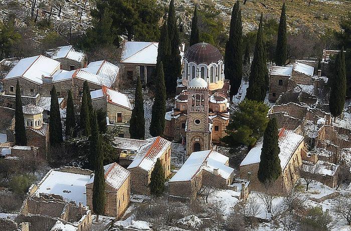 Монастырь Неа-Мони на острове Хиос