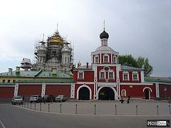 Moscow Government Assists in the Restoration of Conception Monastery for 650th Anniversary